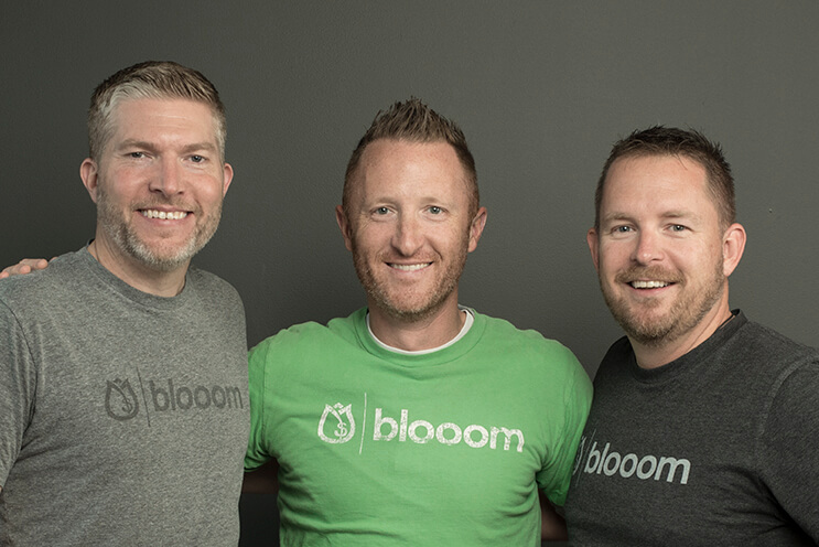 co founders of blooom group photo